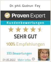 Erfahrungen & Bewertungen zu Dr. Gudrun Fey