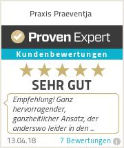 Erfahrungen & Bewertungen zu Praxis Praeventja
