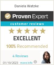 Ratings & reviews for Daniela Watzke