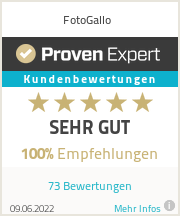 Erfahrungen & Bewertungen zu FotoGallo GmbH
