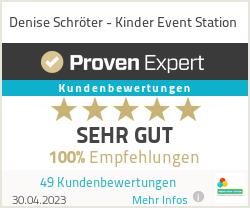 Erfahrungen & Bewertungen zu Denise Schröter