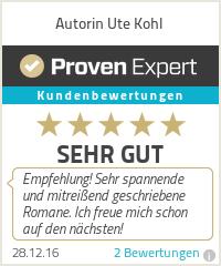 Erfahrungen & Bewertungen zu Autorin Ute Kohl