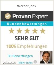 Erfahrungen & Bewertungen zu Werner Jörß