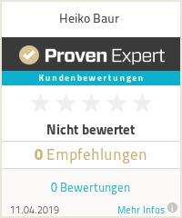 Erfahrungen & Bewertungen zu Heiko Baur