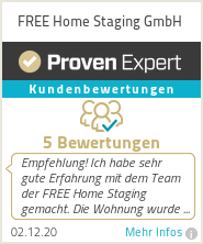 Erfahrungen & Bewertungen zu FREE Home Staging GmbH