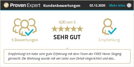 Kundenbewertungen & Erfahrungen zu FREE Home Staging GmbH. Mehr Infos anzeigen.