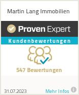 Erfahrungen & Bewertungen zu Martin Lang Immobilien