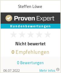 Erfahrungen & Bewertungen zu Steffen Löwe