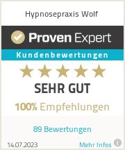 Erfahrungen & Bewertungen zu Hypnosepraxis Wolf