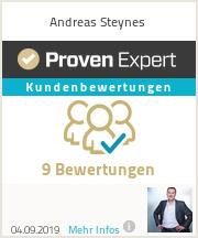 Erfahrungen & Bewertungen zu Andreas Steynes