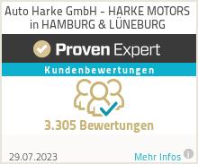 Erfahrungen & Bewertungen zu Auto Harke GmbH - HARKE MOTORS in HAMBURG & L�NEBURG