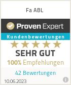 Erfahrungen & Bewertungen zu Fa ABL