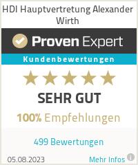 Erfahrungen & Bewertungen zu HDI Hauptvertretung Alexander Wirth