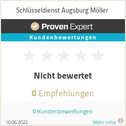 Erfahrungen & Bewertungen zu Schlüsseldienst Augsburg Möller