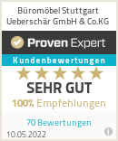 Erfahrungen & Bewertungen zu Büromöbel Stuttgart Ueberschär GmbH & Co.KG