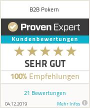 Erfahrungen & Bewertungen zu B2B Pokern