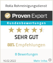 Erfahrungen & Bewertungen zu RoKa Rohrreinigungsdienst