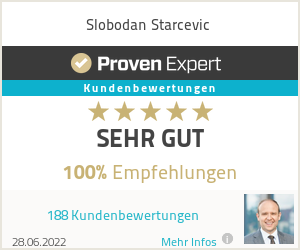 Erfahrungen & Bewertungen zu Slobodan Starcevic