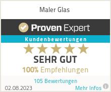 Erfahrungen & Bewertungen zu Maler Glas