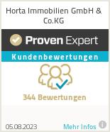 Erfahrungen & Bewertungen zu Horta Immobilien GmbH & Co.KG