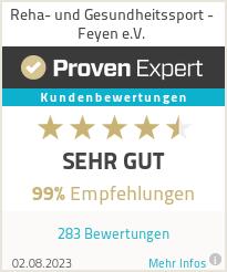 Erfahrungen & Bewertungen zu Reha- und Gesundheitssport - Feyen e.V.