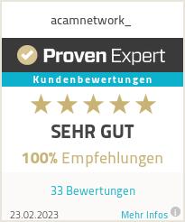 Erfahrungen & Bewertungen zu acamnetwork_