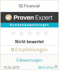 Erfahrungen & Bewertungen zu SG Financial