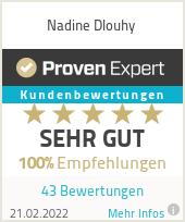 Erfahrungen & Bewertungen zu Nadine Dlouhy
