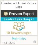 Erfahrungen & Bewertungen zu Hundesport Artikel Victory Dogs