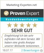 Erfahrungen & Bewertungen zu Marketing-Experten.net