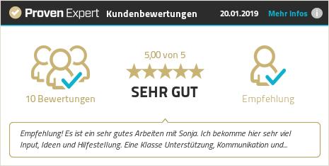 Kundenbewertungen & Erfahrungen zu Sonja Fritzsche. Mehr Infos anzeigen.