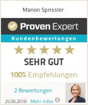Erfahrungen & Bewertungen zu Marion Sprissler