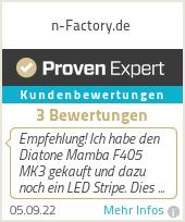 Erfahrungen & Bewertungen zu n-Factory.de