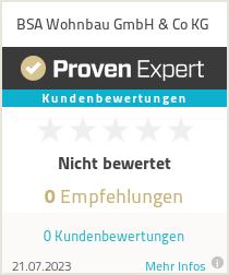 Erfahrungen & Bewertungen zu BSA Wohnbau GmbH & Co KG