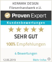 Erfahrungen & Bewertungen zu KERAMIK DESIGN Fliesenhandwerk e.U.