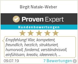 Erfahrungen & Bewertungen zu Birgit Natale-Weber