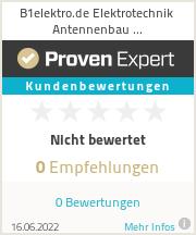 Erfahrungen & Bewertungen zu B1sat.de Antennenbau Berlin