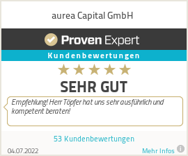 Erfahrungen & Bewertungen zu aurea Capital GmbH