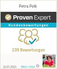Erfahrungen & Bewertungen zu Petra Polk