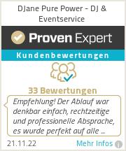 Erfahrungen & Bewertungen zu DJ & Eventservice