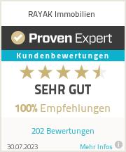 Erfahrungen & Bewertungen zu RAYAK Immobilien
