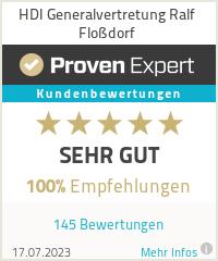 Erfahrungen & Bewertungen zu HDI Generalvertretung Ralf Floßdorf