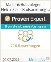 Erfahrungen & Bewertungen zu Profimaler Hamburg Malermeisterbetrieb