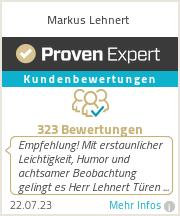 Erfahrungen & Bewertungen zu Markus Lehnert