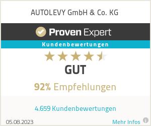 Erfahrungen & Bewertungen zu AUTOLEVY GmbH & Co. KG