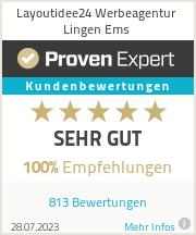 Erfahrungen & Bewertungen zu Layoutidee24 Werbeagentur Lingen Ems