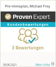 Erfahrungen & Bewertungen zu Pro-Immoplan, Michael Frey