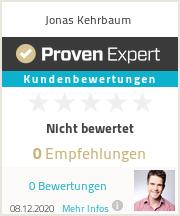 Erfahrungen & Bewertungen zu Jonas Kehrbaum