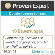 Erfahrungen & Bewertungen zu Eric Steinbacher