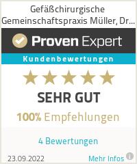 Erfahrungen & Bewertungen zu Gefäßchirurgische Praxis Müller, Dr. Sensebat, Meuter